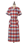 Vintage Tartan Treasure Dress