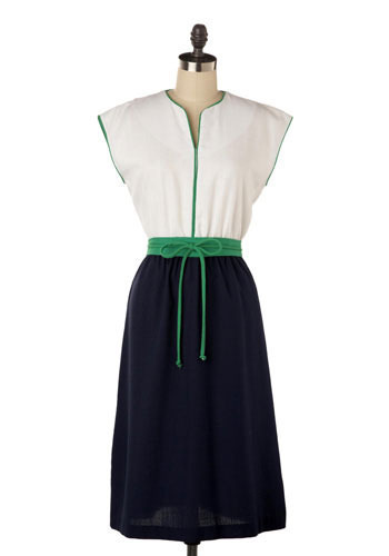 Vintage Leisure Time Dress
