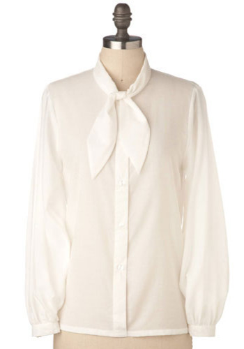 Dove Tail Blouse - Mid-length
