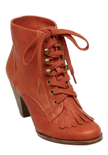 Arbor Boots in Cherry by Jeffrey Campbell
