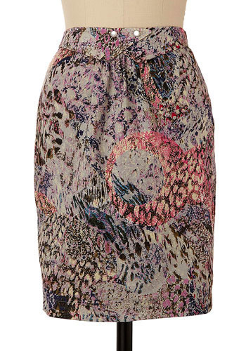 *** The Great Barrier Reef Skirt - Mid-length