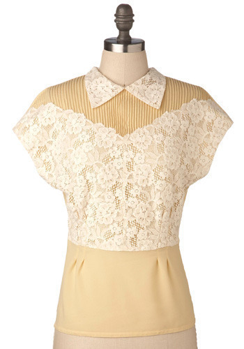 Almond Torte Top by BB Dakota - Mid-length