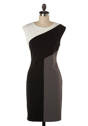 Shifting Perspectives Dress by Max and Cleo - Mid-length