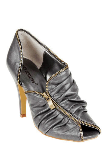 Zipper Foot Heels