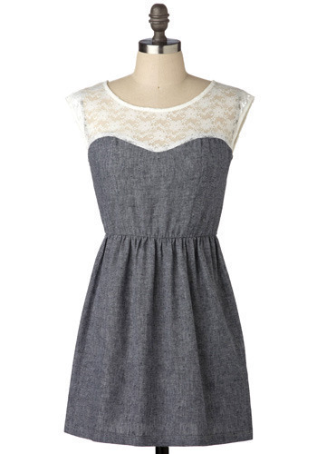 Lace of Base Dress - Short