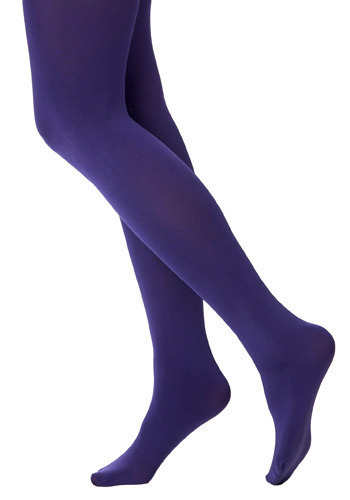 Ultraviolet Tights - Purple, Casual