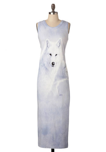 *** Wolf Form Maxi Dress - Long