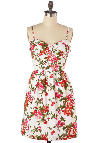 Sugar Rose Dress - Short