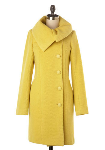 When Life Gives You Lemons Coat by BB Dakota - Long