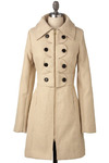 Metroparks Coat in Willow by Tulle Clothing - Long