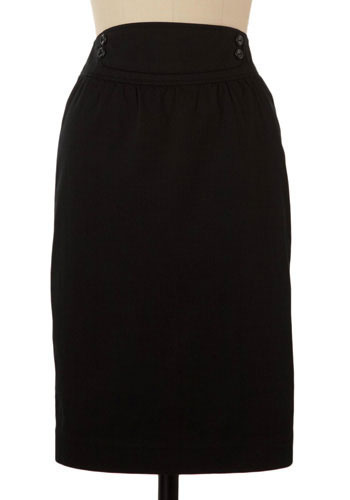 *** Conté Pencil Skirt by Tulle Clothing - Mid-length