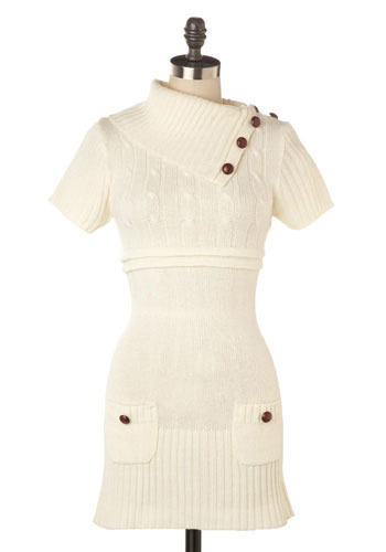 Bande à Part Tunic in Cream - Long
