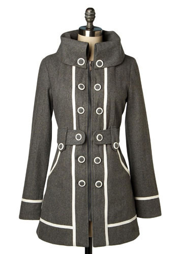 West End Girls Coat by Gentle Fawn - Long