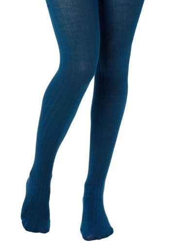 Longitude Tights in Blueberry