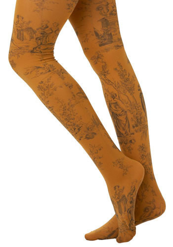 Make a Scene Tights by Look From London
