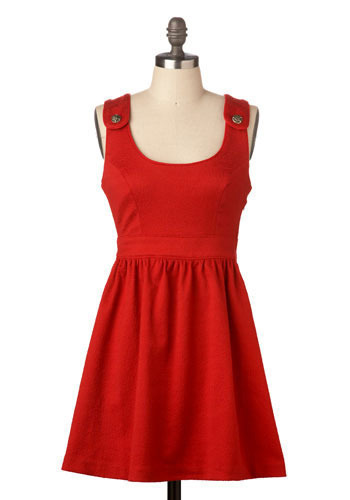 Sally's Wearing a Red Dress by BB Dakota - Short