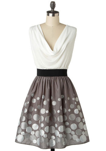 Blowing Bubbles Dress - Mid-length