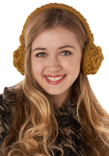 *** Queen Bee Ear Muffs