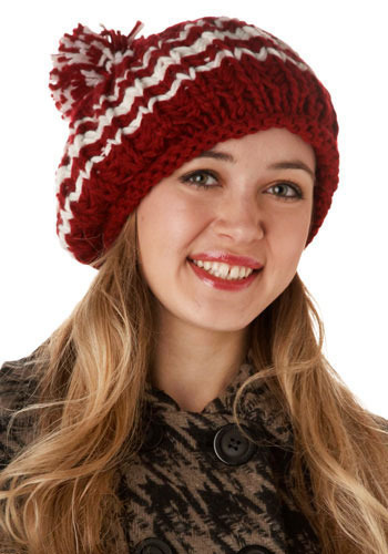 Pom-Pomegranate Hat