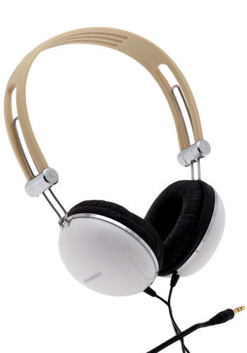 DJ Fashion Headphones in White