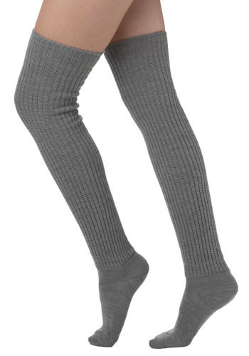 Second Semester Socks in Grey