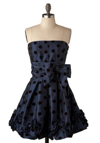 Spot Through the Heart Dress - Short