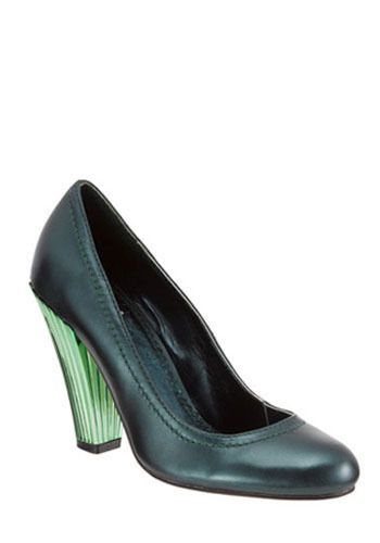 Genius of Love Heel in Emerald