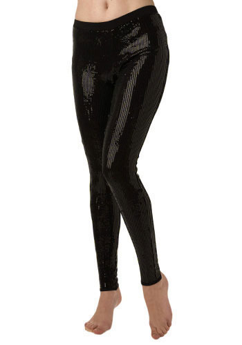 *** Sequin-tially Essential Leggings by BB Dakota - Mid-length