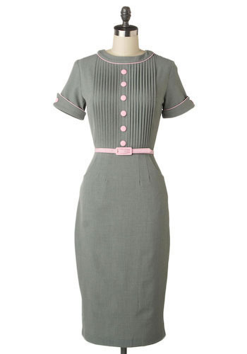 Temporary Secretary Dress by Stop Staring! - Long