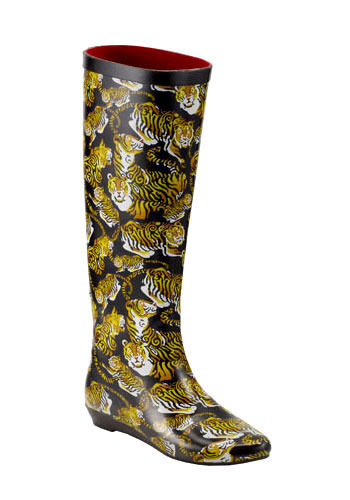 St-eye-le of the Tiger Rain Boot by Jeffrey Campbell