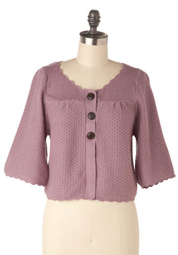 Olallieberry Cardigan - Short