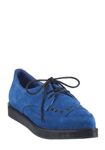 Blue Suede Shoe by Jeffrey Campbell