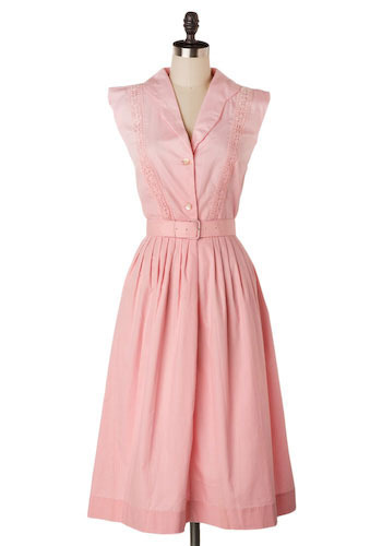 Vintage La Marne Rose Dress
