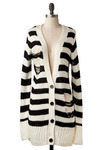 Where's Your Shred At? Cardigan by Mink Pink - Long
