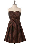 Bronzed Goddess Dress - Short