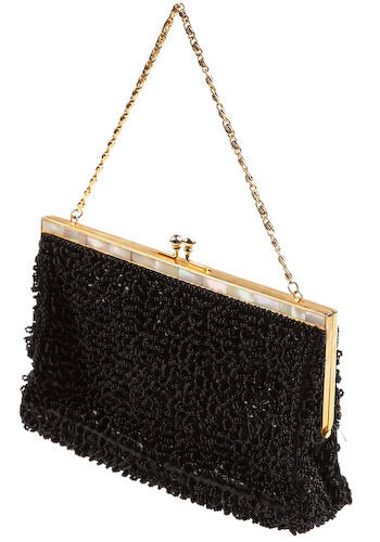 Vintage Little Black Bag