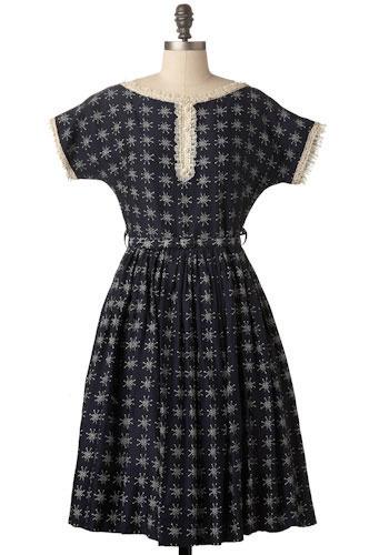 Vintage Atoms Dress