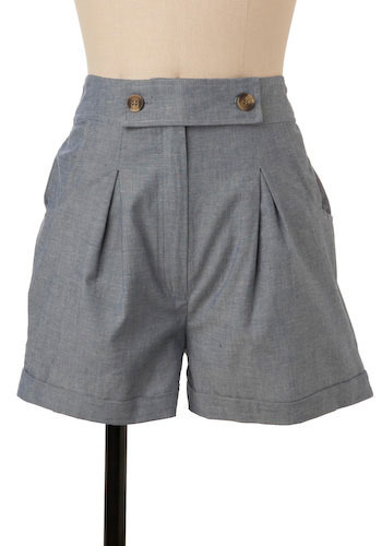Santorini Shorts - Mid-length
