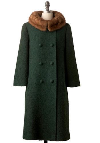 Vintage February Coat
