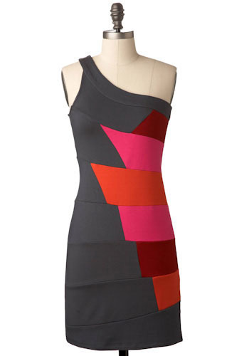 Meet Me at the Bar Graph Dress - Mid-length