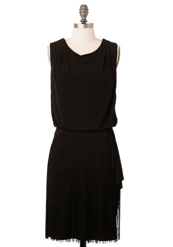 Speakeasy to Me Dress by Max and Cleo - Mid-length
