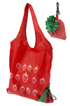 Grovestand On the Go Tote in Strawberry - Red, Green, White, Casual