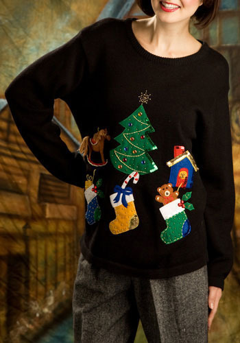 Vintage Holly Jolly Sweater