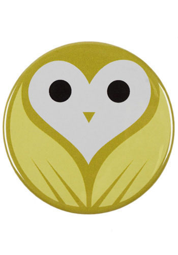 Owl Check You Out Pocket Mirror