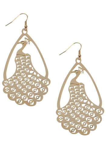 Strut Your Stuff Earrings - Silver, Gold
