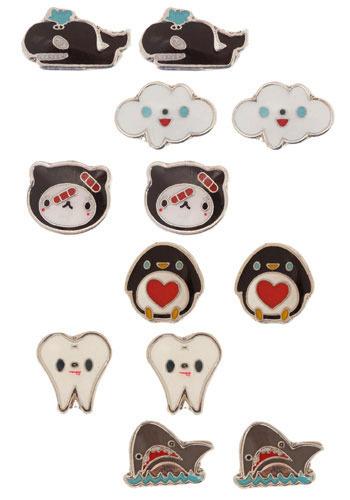 Aquatic Pal Earrings by Crowded Teeth