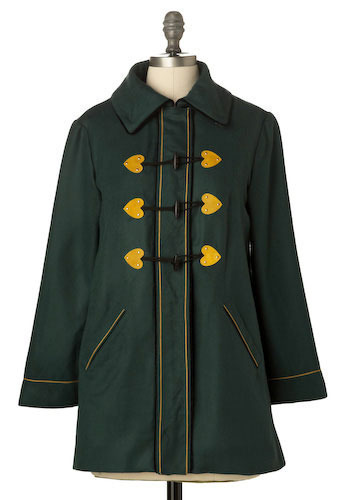 The Heart Coat in Ann - Mid-length
