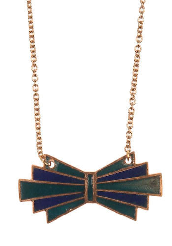 Art Neck-Bow Necklace