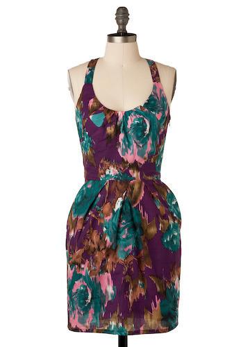 Techniflower Dress by Jack by BB Dakota - Short