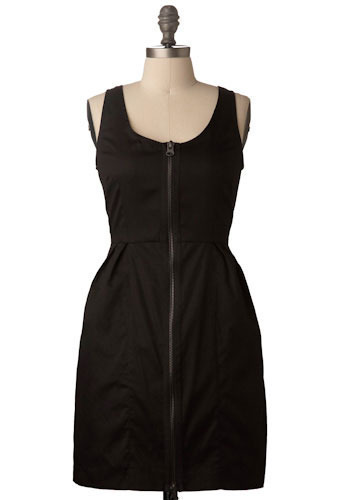 Classic Noir Dress by BB Dakota - Short